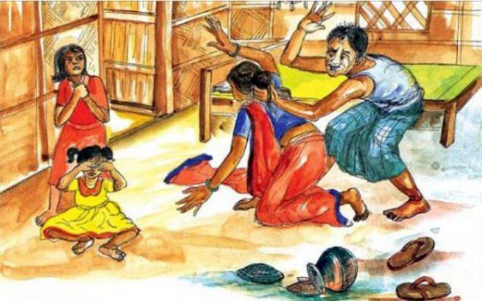 সুন্দরগঞ্জে স্ত্রীকে নির্যাতনের অভিযোগ