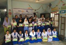 রোটারী ক্লাব অফ ঢাকা জেনারেশন নেক্সট এর উদ্দ্যগে ২০ জন ছাত্রীকে মাসিকের জন্য ব্যবহৃত সামগ্রী প্রদান