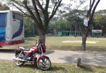 ছাতকে বিদ্যালয়ের পাশে আঞ্চলিক মহাসড়ক