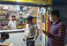 সৈয়দপুরে হোম কোয়ারেন্টাইন না মানায় ব্যবসায়ীর ১০ হাজার টাকা জরিমানা