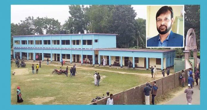 করেরহাট অলিনগর লায়লা বেগম আদর্শ উচ্চ বিদ্যালয়ের উন্নয়নে অবদান রেখে চলেছেন সভাপতি হাজ্বী নিজাম উদ্দিন