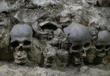 মেক্সিকোতে 'মানব খুলির দুর্গ' থেকে আরও ১১৯ খুলি উদ্ধার