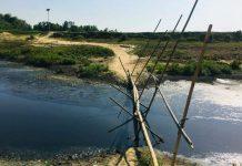 শিল্প-কারখানার বর্জ্যে প্রাণ হারিয়ে ফেলছে সুতাং নদী
