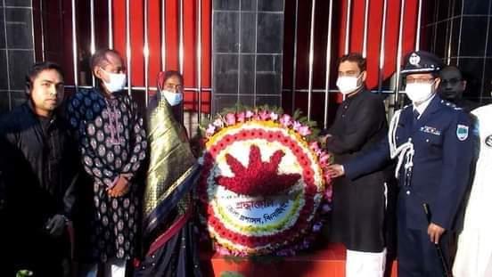 ঝিনাইদহে যথাযোগ্য মর্যাদায় আন্তজার্তিক মাতৃভাষা দিবস পালিত